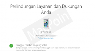 Cara Cek Garansi iPhone Menggunakan Imei dan Serial