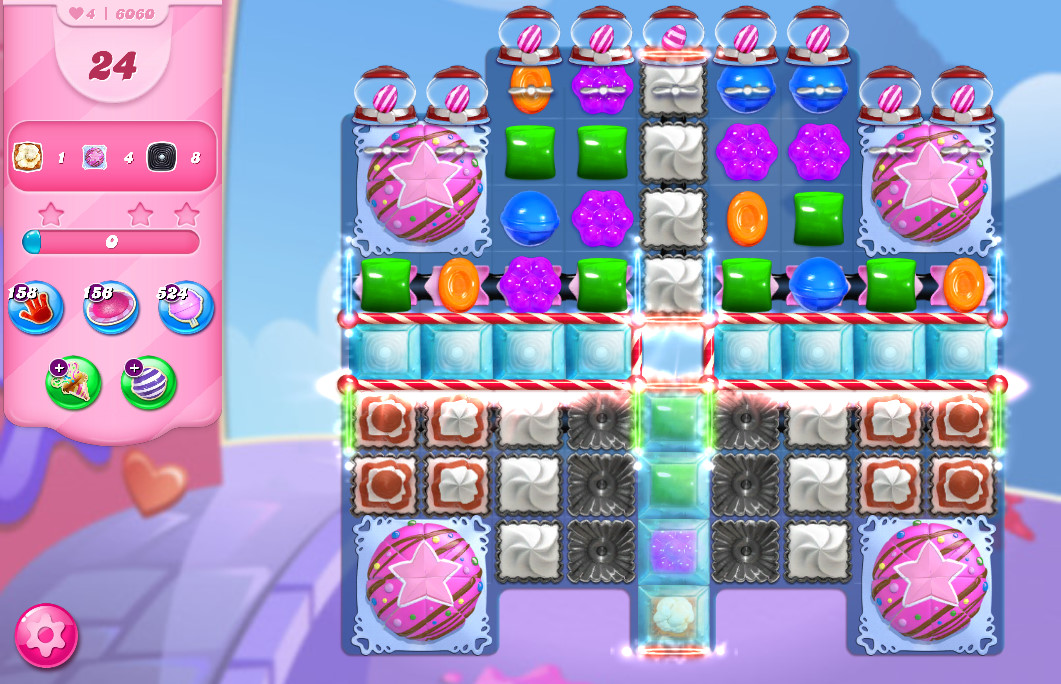 Candy Crush Saga level 6060