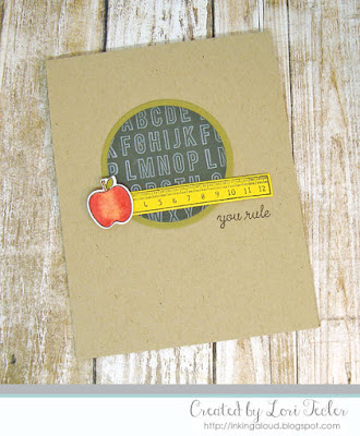 You Rule card-designed by Lori Tecler/Inking Aloud-stamps and dies from Reverse Confetti