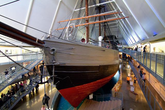 El barco Fram (Museo del Fram en Oslo)