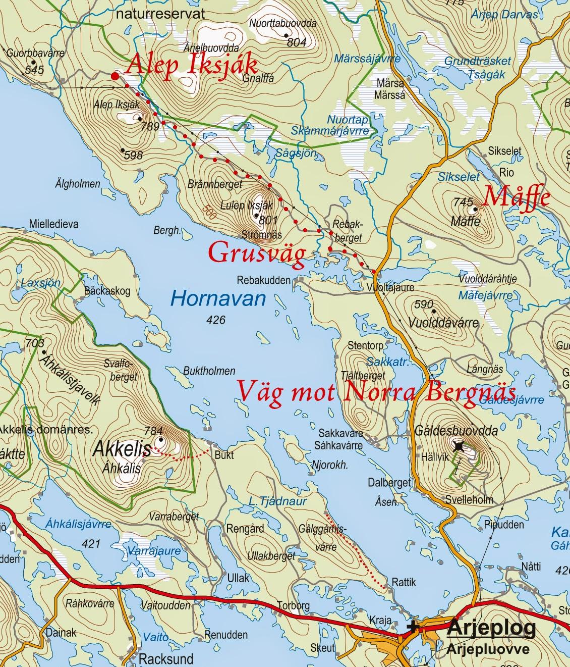 arjeplog karta Välkommen till Arjeplogsfjällen!: Tips på vandring till toppar i  arjeplog karta
