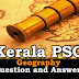 Kerala PSC Geography Question and Answers - 2