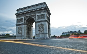 Wallpaper: Arc de Triomphe from Paris