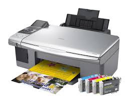 is a borderless photograph printer alongside scanning too copying functionality Epson Stylus CX5900 Driver Downloads