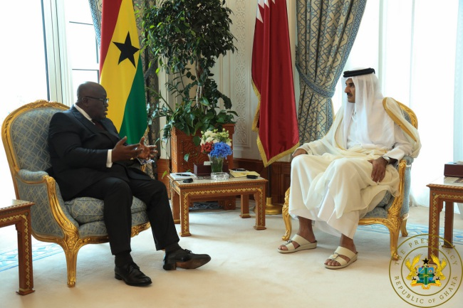 """You Are Governing Ghana Well"" – Emir Of Qatar To President Akufo-Addo"