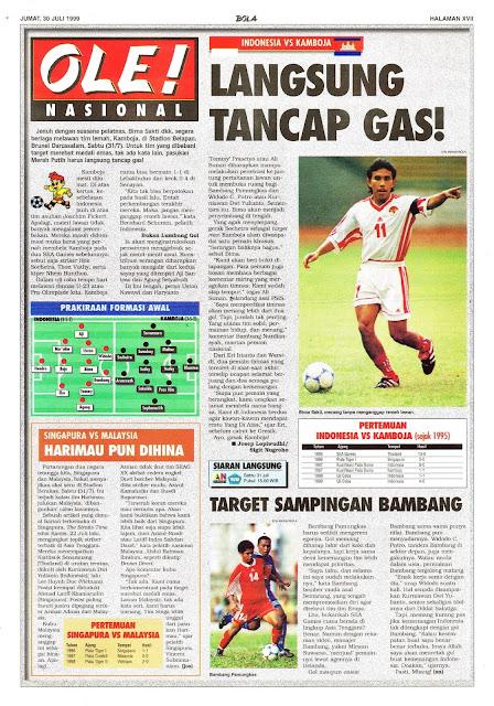 INDONESIA VS KAMBOJA LANGSUNG TANCAP GAS