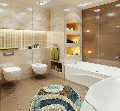 +55 Modern small bathroom design makeover ideas 2019 on Small Bathroom Remodel Ideas 2019  id=16922