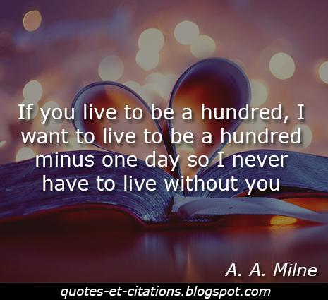 citation vivre sans toi