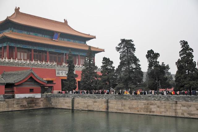 Peking Kiina Kielletty kaupunki
