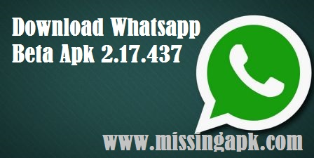 Download Whatsapp Beta-www.missingapk.com