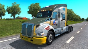 Kenworth T680 truck from ATS to ETS2