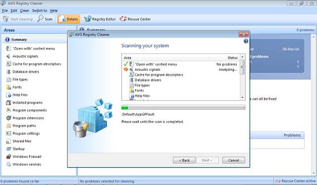 Cara Menghapus Registry Dengan AVG PC TuneUp