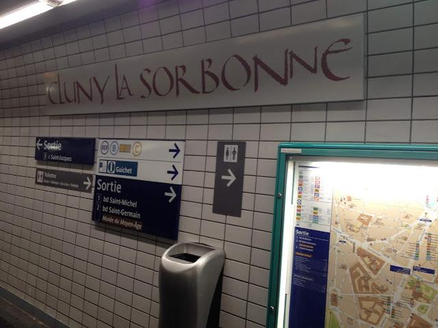 metro de Paris La Sorbonne