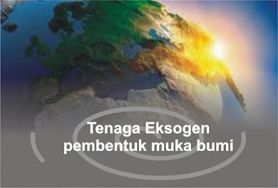 Tenaga eksogen pembentuk muka bumi