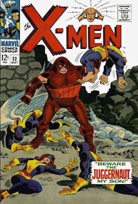 X-Men #32, the Juggernaut