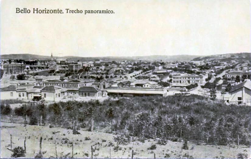 panorama de belo horizonte no ano de 1906 curral del rey
