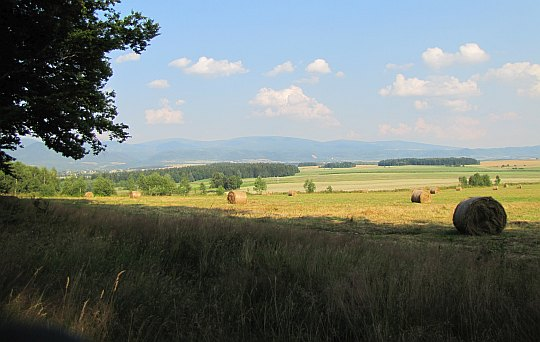Kotlina Kłodzka ze wzgórza Wronki.