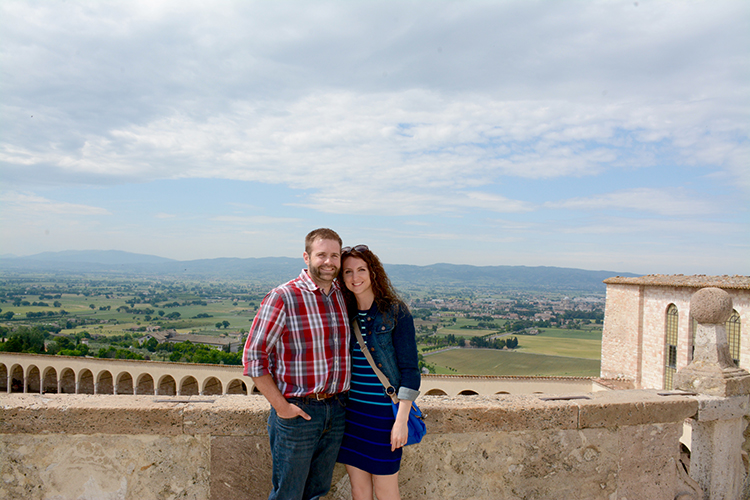 Zac & Katie in Assisi, Italy | My Darling Days