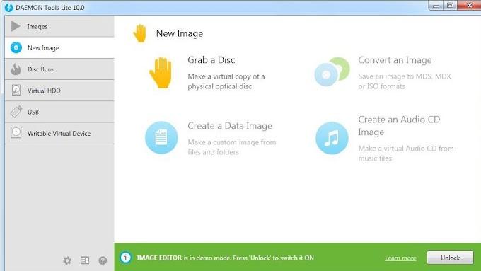 Daemon Tools Lite 10.10 - Δημιουργήστε δωρεάν εικονικούς δίσκους