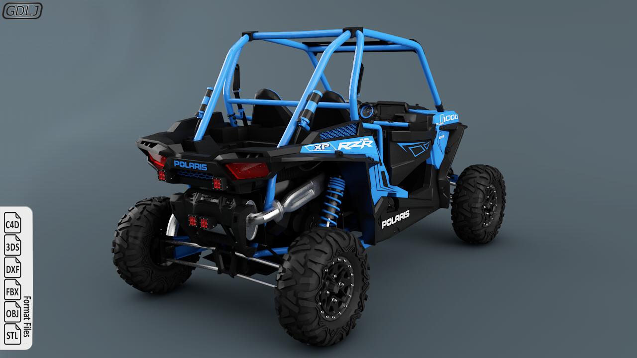 Polaris Ranger RZR 1000 | Layth Jawad