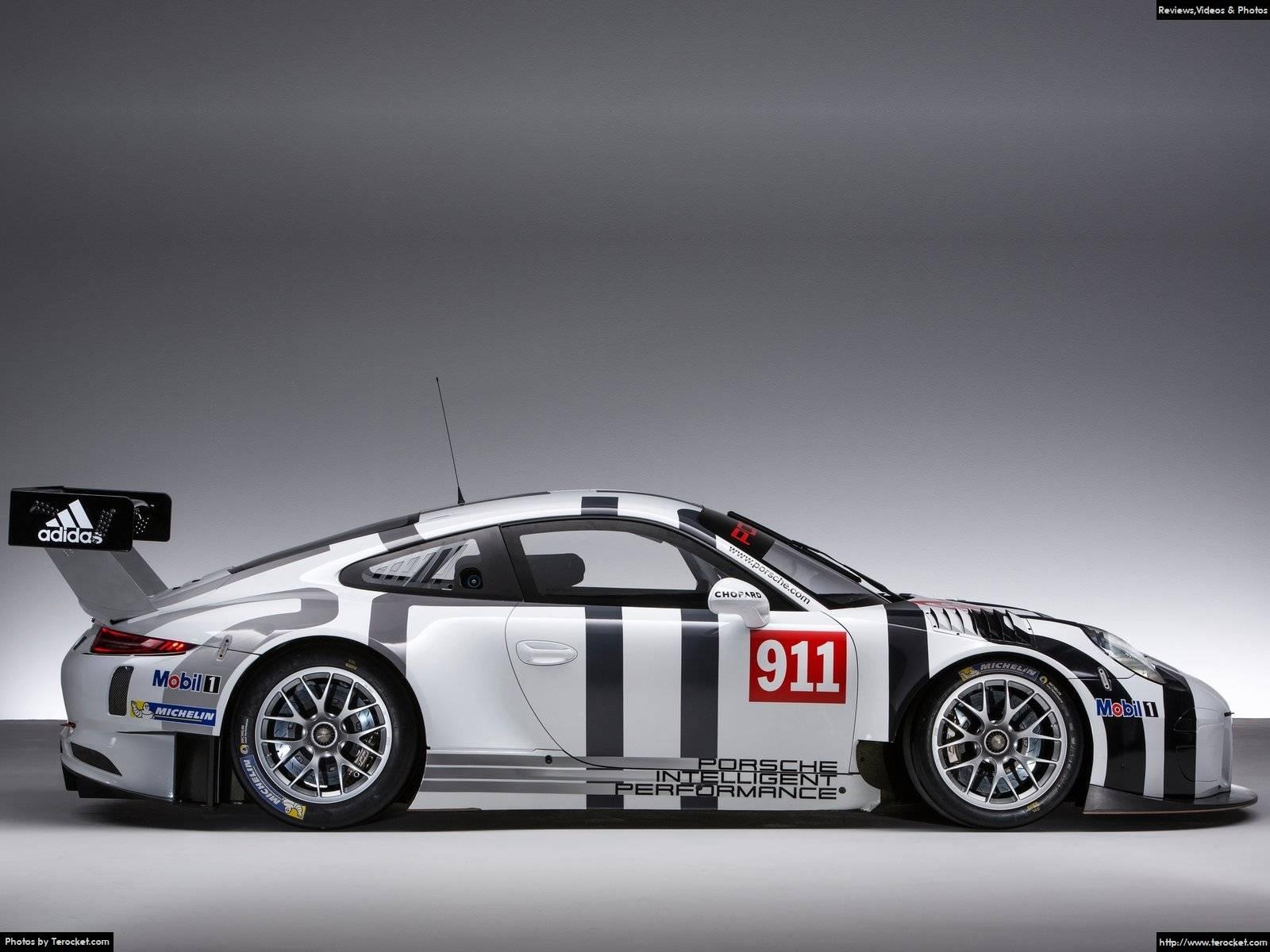 Hình ảnh xe ô tô Porsche 911 GT3 R 2016 & nội ngoại thất