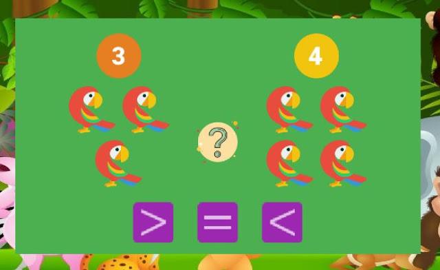 تطبيق رائع لتعليم الأطفال الجمع و الطرح و المقارنة و الحساب بطريقة سهلة باعتماد الصور 12