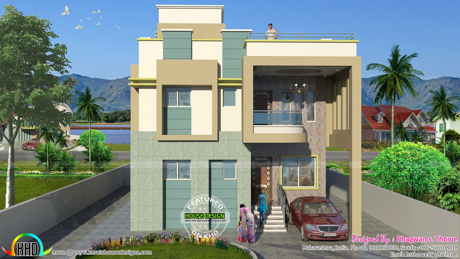 Free Floor Plan Of 2365 Sq Ft Home Kerala Home Design