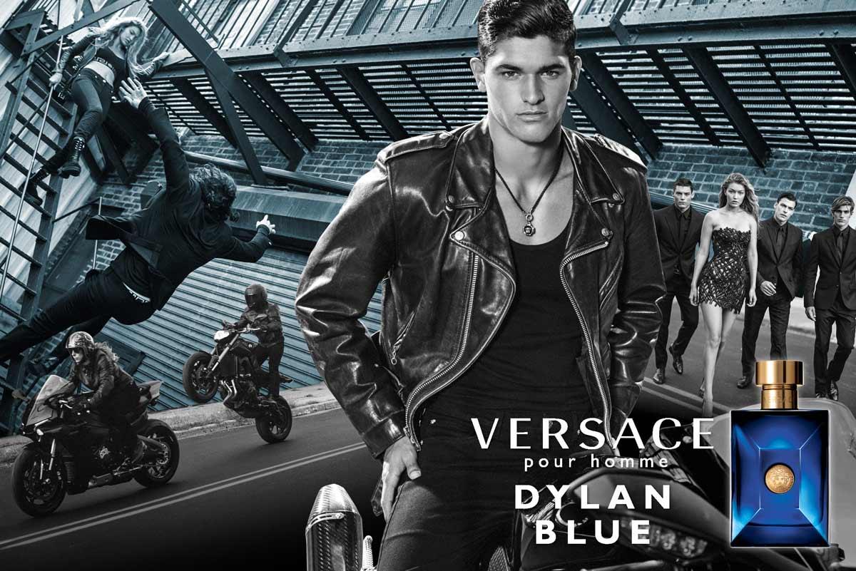 Dylan Blue -  El nuevo perfume masculino de Versace