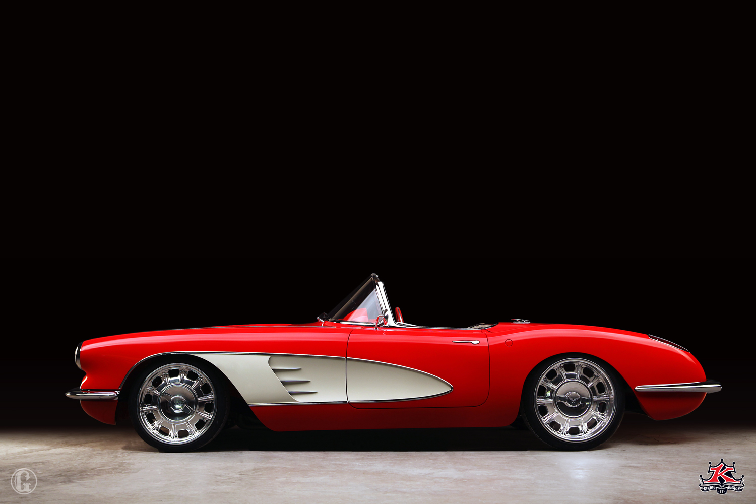 Kindig It Design >> Jonathan Glover Photography: Kindigit-Design 1960 Corvette