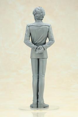 """Siegfried Kircheis 1/8 ARTFX J de """"Ginga Eiyuu Densetsu"""" - Kotobukiya."""