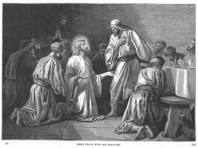 Jesus Prays for His Disciples - Alexandre Bida