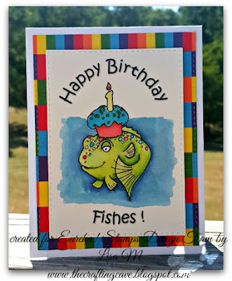 In The Crafting Cave with Lisa Happy Birthday Fishes