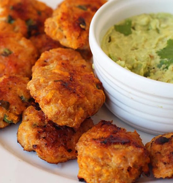 Sweet Potato Chicken Poppers (Paleo, Whole30 & AIP)