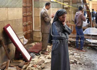 تفجير الكنيسة البطرسية مصر