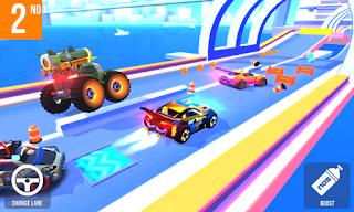 pada kesempatan yang indah kali ini admin akan share game mod terbaru for android yang ke SUP Multiplayer Racing v1.3.4 (Mod Apk Money) Update Versi Terbaru Gratis