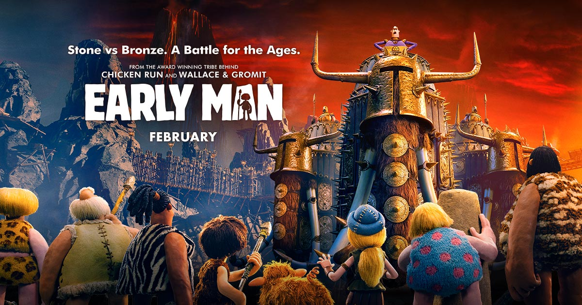 Early Man 2018 English Animation HDCAM x264 550MB