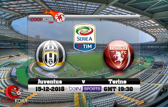 مشاهدة مباراة تورينو ويوفنتوس اليوم 15-12-2018 في الدوري الإيطالي