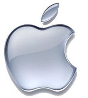 90edfbe074 A szivárványsávos almát még a 70-es években, az egyszínű logót 1999 óta  használják. A harapás az almán egyesek szerint kóstolót jelent a tudás  almájába, ...