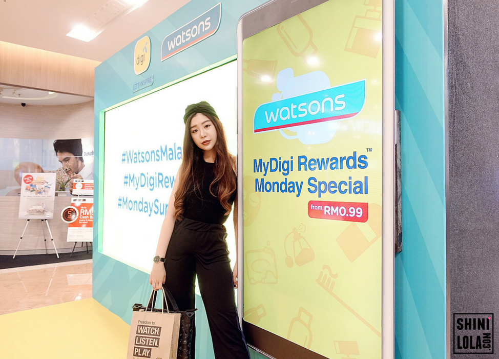 WATSONS & MYDIGI REWARDS MONDAY SPECIAL