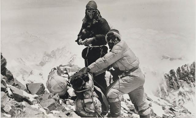 60. rocznica zdobycia szczytu Mount Everestu. Hillary: George, mamy go