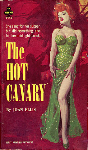 Robert Maguire - The Hot Canary, paperback cover, 1963