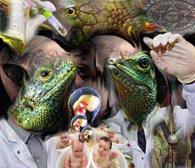 Ancient Alien Theorists Contend - collage by Erich Kuersten