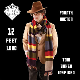 Funky Cosplay GIANT DOCTOR WHO LONG SCARF-Tom Baker Costume-12FT