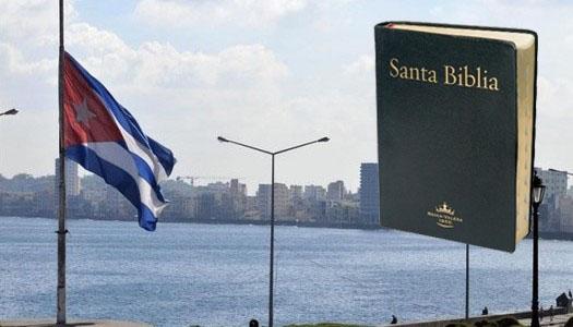 Distribución de Biblias en Cuba