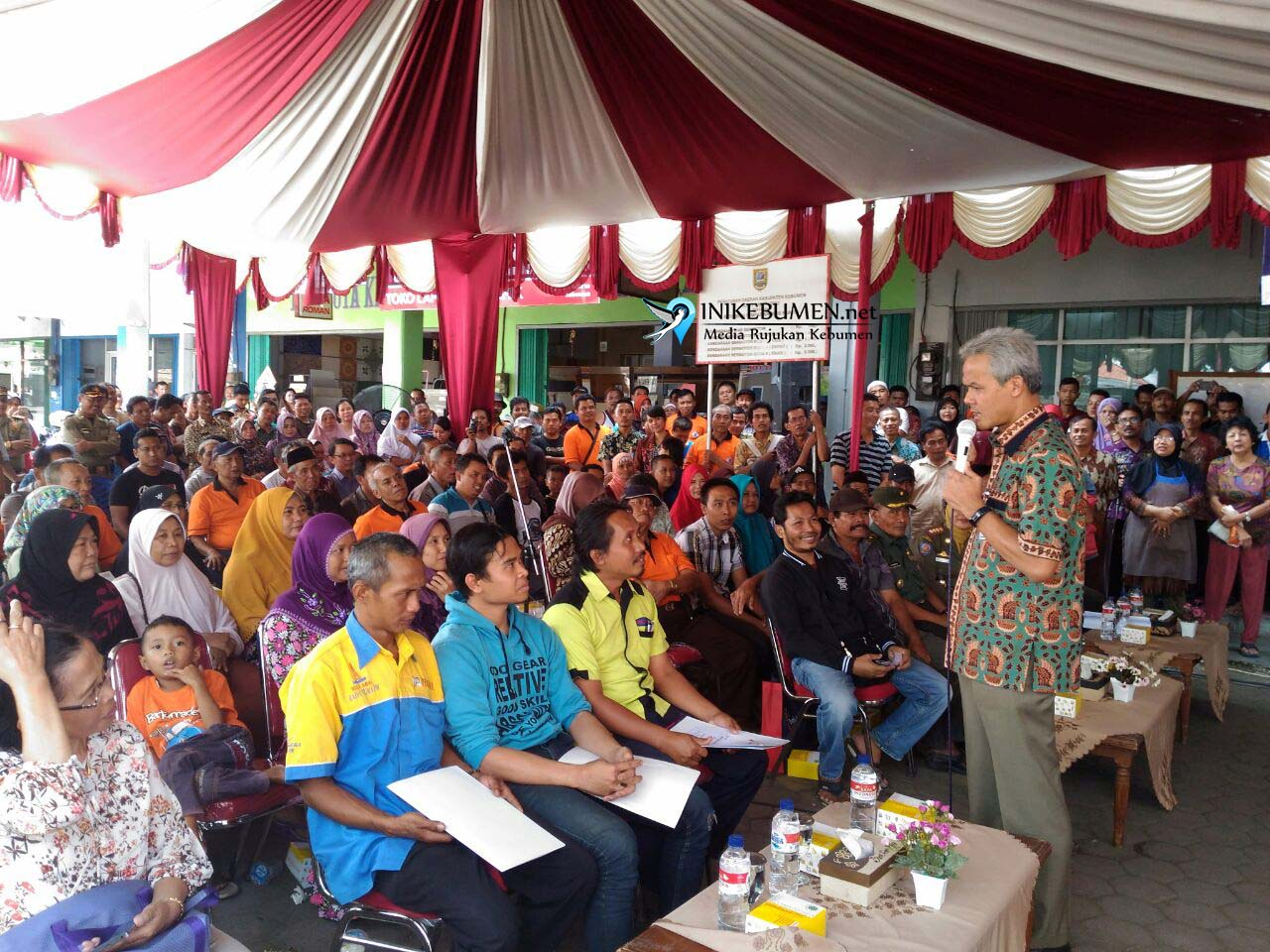 Pemkab Kebumen Alokasikan Anggaran Rp 670,5 Juta untuk Pedagang Korban Kebakaran Pasar Wonokriyo Gombong
