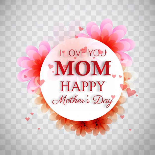 Elegant modern mothers day background Free Vector