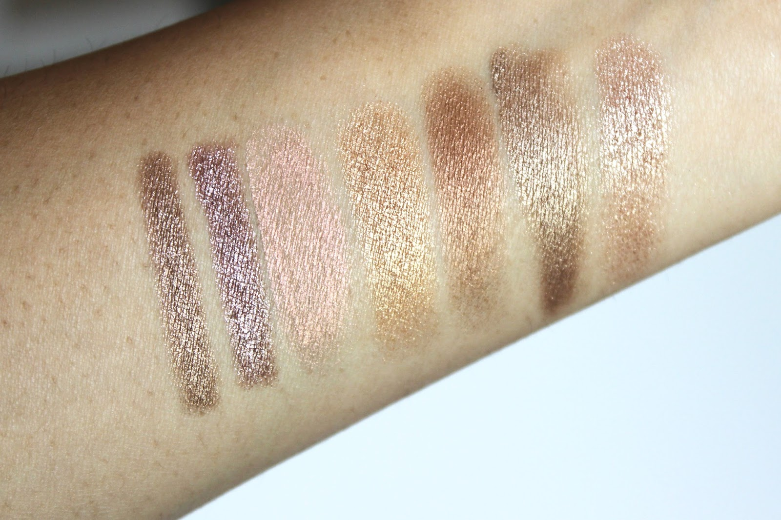 Armani eye tint, by terry bronze moon swatches