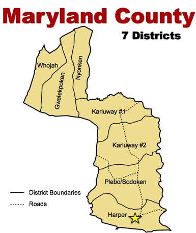 Image result for Maryland County liberia