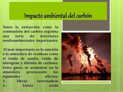 impacto del carbon