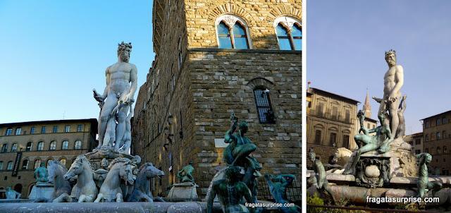 Florença - Fonte de Netuno